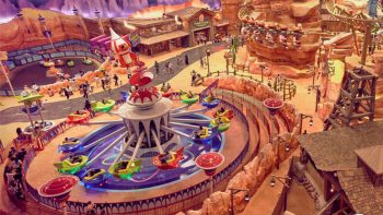 World's biggest indoor theme park opens in Abu Dhabi