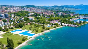 Summer retreat: Lake Geneva in Lausanne
