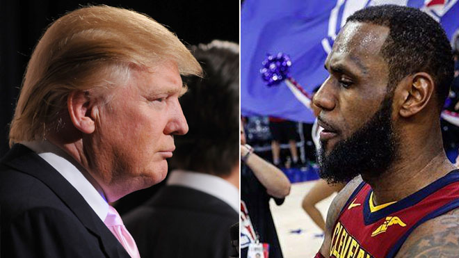 Trump's tweet questions LeBron James' intelligence