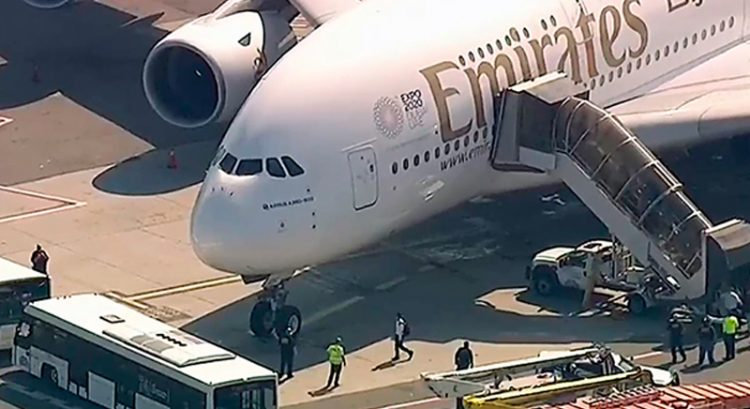 Drunk Emirati pilot who threatened to blow up Emirates plane jailed