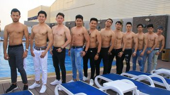 Man of the Philippines-UAE candidates chill out in Dubai hotel