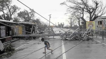Philippine typhoon Ompong: death toll climbs