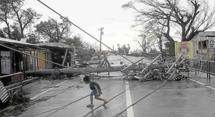 Philippine typhoon Ompong: death toll climbs
