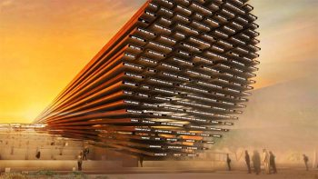 Mind-blowing UK pavilion at Expo 2020 Dubai