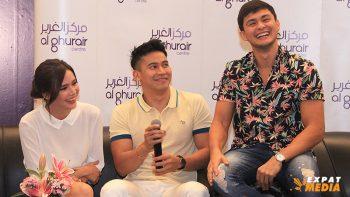 Erich Gonzales, Enchong Dee, Matteo Guidicelli thrill Dubai fans