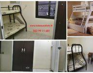 Filipinos Partition; Female Bed Spaces Available Near Rigga, Union & Salah Al Din Metro Stations, Al Rigga, WhatsApp : 052 9911 681