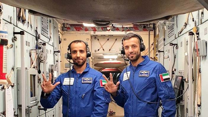 UAE's first astronauts train for historic space journey