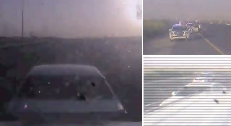 VIDEO: Dubai driver in cruise control fail saved from fatal accident
