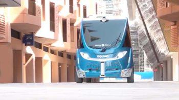 Driverless shuttle service launches in Abu Dhabi's Masdar City