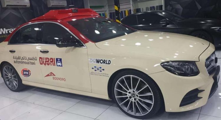 Dubai's first driverless taxi to be test run during Gitex