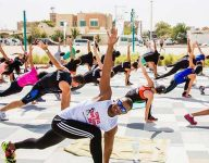 Could fitness buffs beat Dubai plank record?