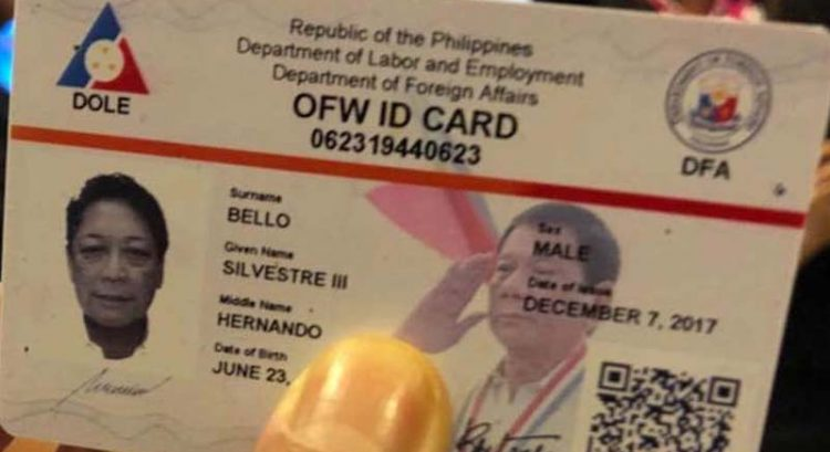 OFW card: benefits and how to apply