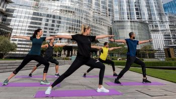 Care for some workout sessions at Burj Khalifa?