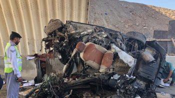High-speed horror crash in Ras Al Khaimah kills man