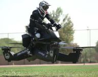 Watch: Dubai's cops of the future will be on hover bikes