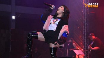 KZ Tandingan gives best Rolling in the Deep cover in Abu Dhabi