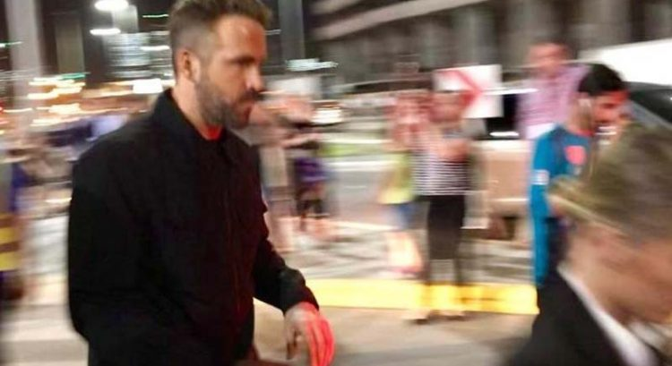 Ryan Reynolds spotted in Abu Dhabi