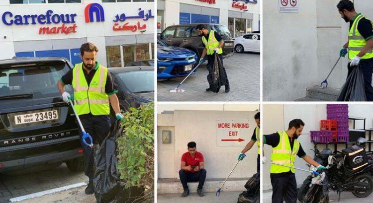 UAE businessman becomes Dubai street cleaner