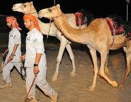New Abu Dhabi desert patrol runs on four legs