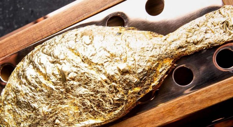 New Dubai restaurant serves fish covered in 23k gold