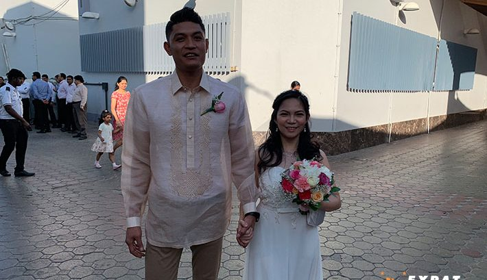 5 Filipino couples get free bouquet ahead of Dubai mass wedding