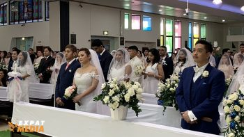 Dubai mass wedding: 34 couples say 'I do'