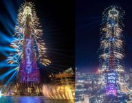 Burj Khalifa New Year's Eve light show to have extended run