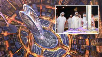 Watch: New futuristic Burj tower to rise in Dubai