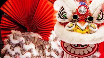 Celebrating Chinese new year in Dubai desert resort