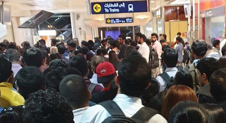 Dubai Metro 'technical glitch' leaves hundreds stranded