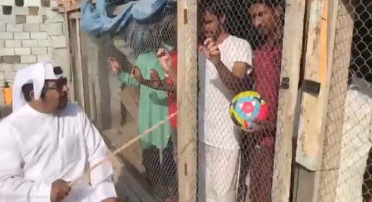 UAE man arrested for locking up India supporters in cage