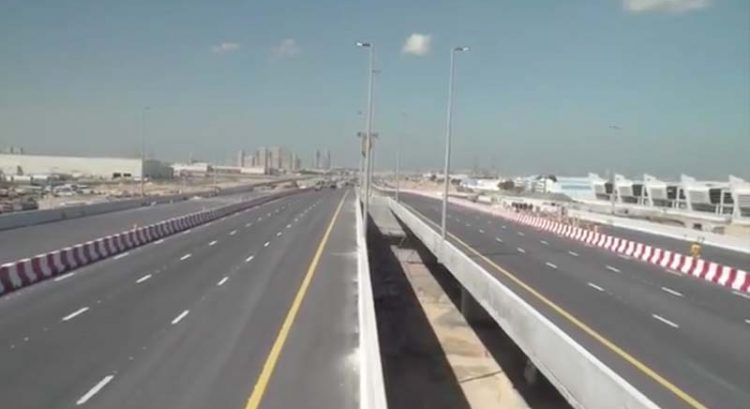 Watch: Key bridge to Dubai Expo site opens