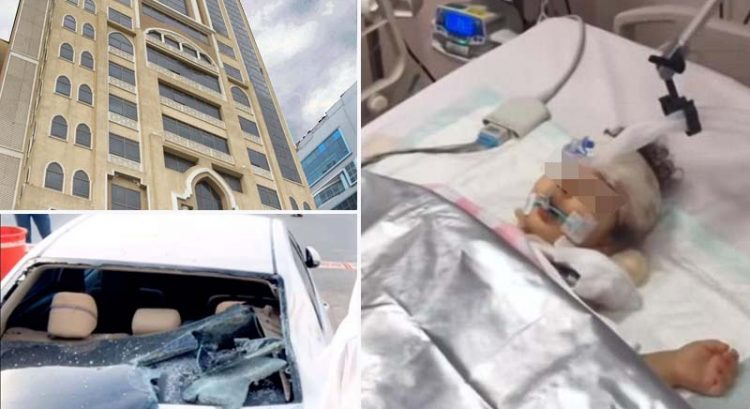 Baby in stable condition after falling from Ras Al Khaimah building