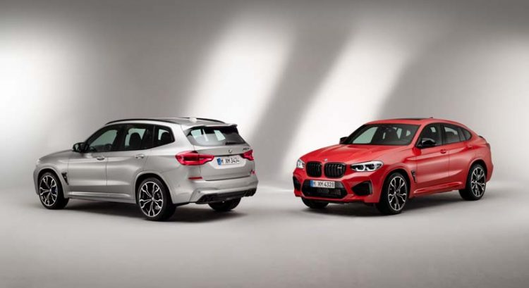 New BMW X3 M and BMW X3 M Competition specs