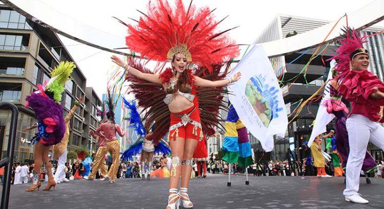 Pictures: Brazilian carnival takes over Dubai's City Walk