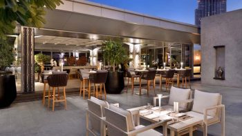 Daily happy hours at Cabana in The Address Dubai Mall