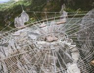 Philippine georeserve with giant 'web' shortlisted for world tourism award
