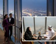 World's highest lounge opens in Dubai