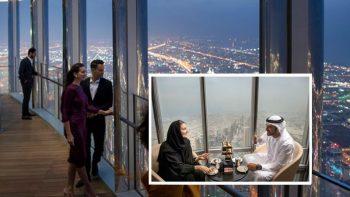 World's highest lounge opens in Dubai