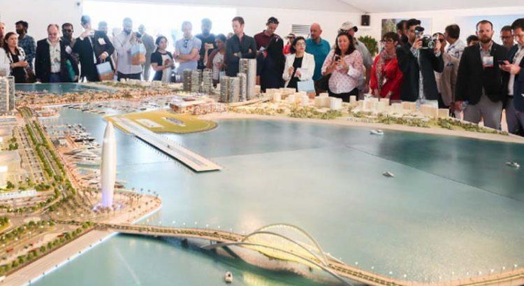 Watch: Mega Dubai marina unveiled
