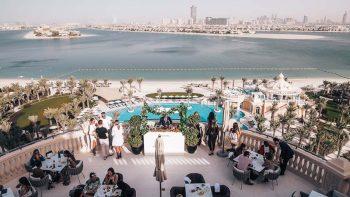 Luxury Friday brunch on The Palm: Aristokrasi Brunch
