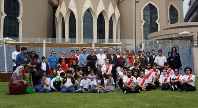 Bab Al Qasr Hotel & Residences hosts children with determination