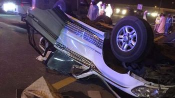 4 killed in Ras Al Khaimah car crash