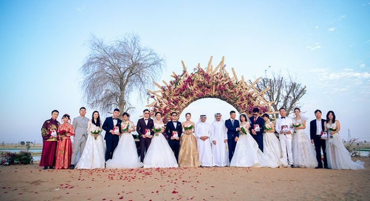 Watch: Dubai's Love Lakes transform into stunning wedding venue