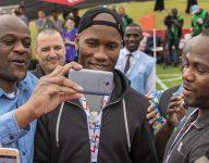 Didier Drogba, Cafu play alongside Special Olympics athletes in Abu Dhabi