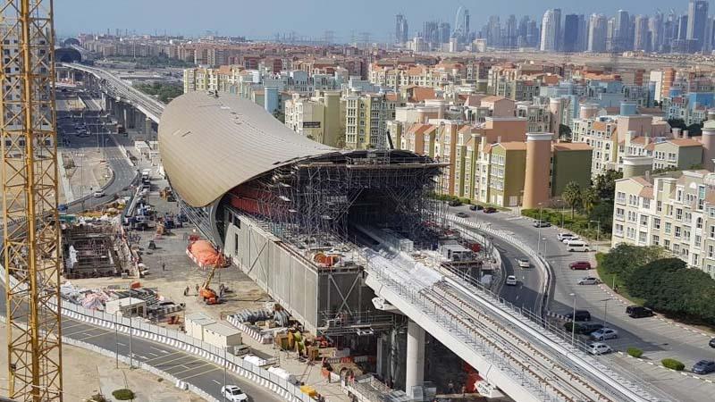 Dubai Metro to Expo Site
