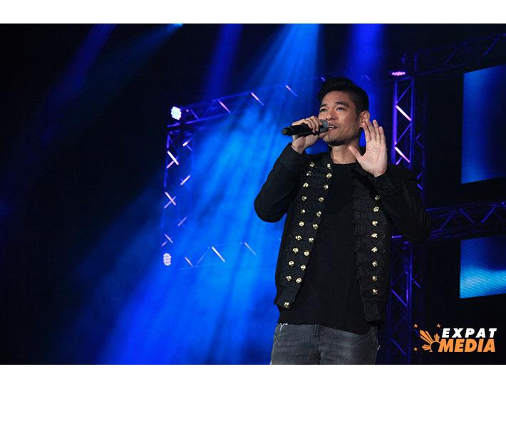 Jay R in Dubai on March 22, 2019.