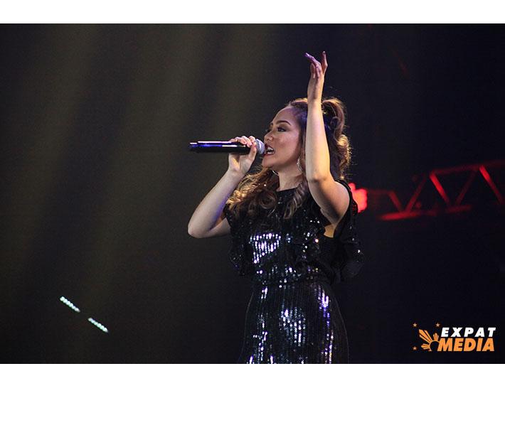 Rhea Basco in Dubai on March 22, 2019.