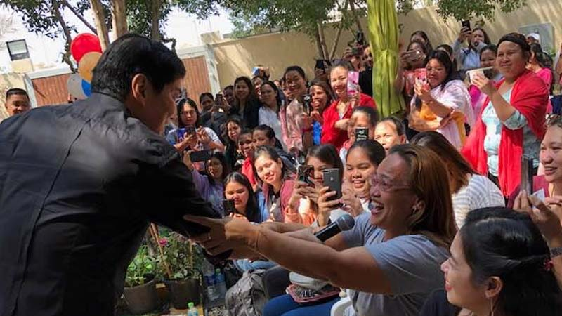 Raffy Tulfo at Polo-Owwa in Dubai on March 9, 2019. Photo by Ron Awa
