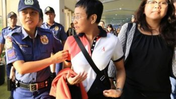 Rappler CEO arrested at Philippine airport